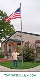 Flag Raising by Tom Owens
